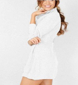 Платье-свитер цвет: БЕЖЕВЫЙ