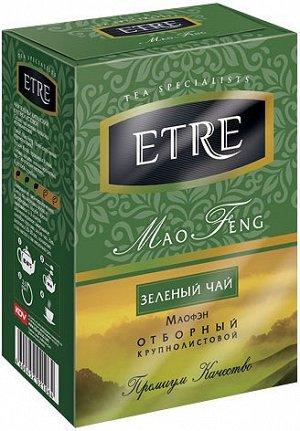 «ETRE», чай «Mao Feng» зеленый крупнолистовой, 100 г