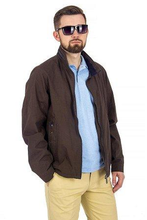 Куртка лето тёмно-коричневая