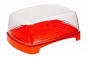 Масленка Масленка АПЕЛЬСИН. Для хранения масла изделие используется вниз поддоном, на котором умещается стандартная упаковка продукта. В перевернутом состоянии в глубокую крышку удобно положить творог