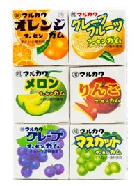 """Жевательная резинка """"MARUKAWA ассорти из 6 фруктовых вкусов"""