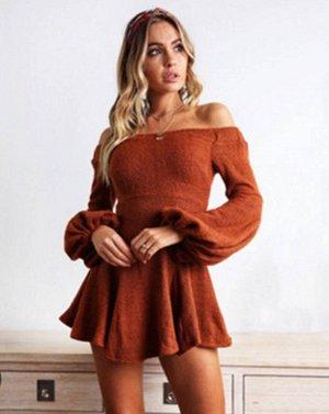 Платье цвет: VD5124 ОРАНЖЕВЫЙ