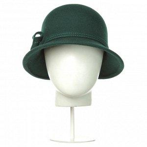 Шляпа зелёного цвета, размер 57