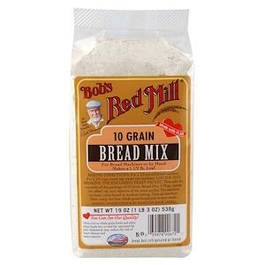 Bob's Red Mill, 10 злаков, смесь для выпечки хлеба 538 гр