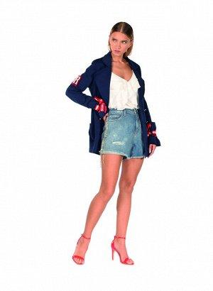 блуза ассиметрия - ИТАЛИЯ- Красивенный Re*li*sh SS 2019! платим 70% и таможню - размер 46-48- ЕСТЬ ФОТО