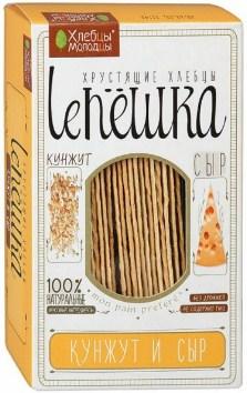 Хлебцы Lепёшка 150г кунжут и сыр