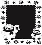 """Песочная рамка """"Пингвинчик"""" арт.663"""