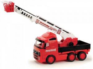"""""""Volvo"""", автомобиль пожарный (в сеточке) 8787 (1/2)"""