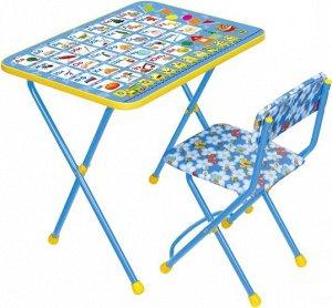 """Набор мебели """"Азбука"""" (мягк. стул) тм NIKA"""