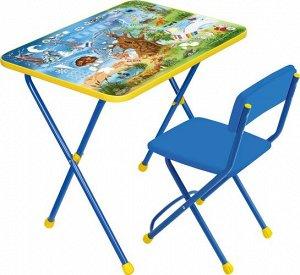 """Набор мебели """"Хочу все знать!""""(стол+стул мягк.) тм NIKA"""