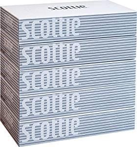 """Салфетки Crecia """"Scottie"""" двухслойные цветные пачки 200шт*5кор/12"""