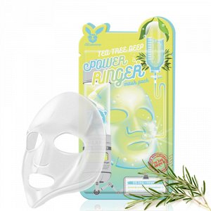 Успокаивающая тканевая маска для лица с экстрактом чайного дерева