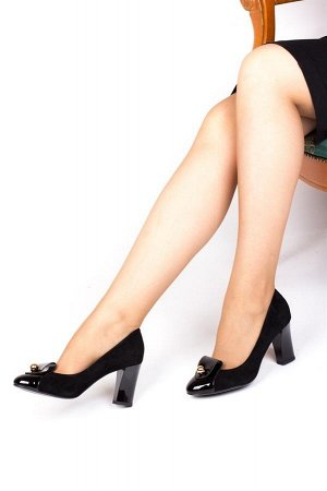 Туфли (H700-762-2D BLACK)