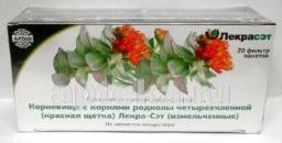 Красная щетка (родиола четырехчленная) 1,0 №20, ф/пак. БАД РОССИЯ
