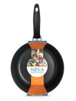 """Neva Black"" Сковорода литая 24см N124"