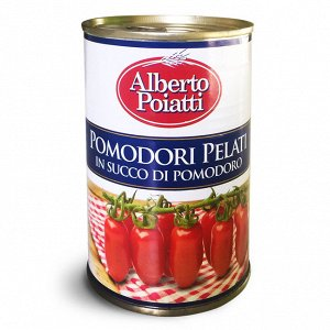 Pomodori Pelati Помидоры без кожуры 800 г. (ж/б)