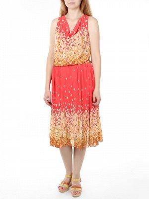 M073 платье женское, розовое