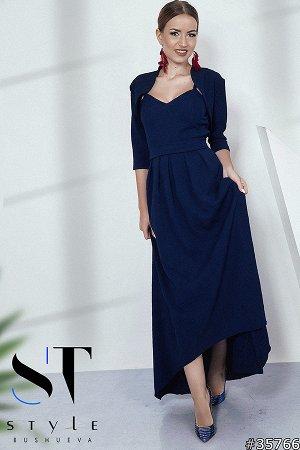 Платье+болеро 35766