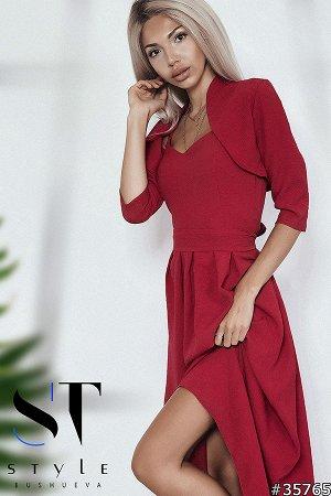 Платье+болеро 35765