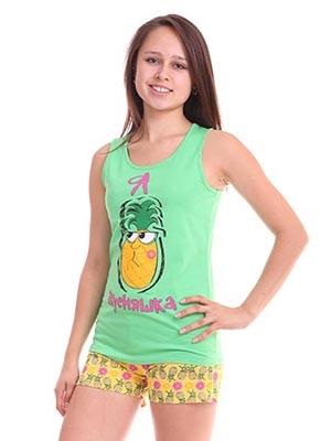 Свитанак. Одежда для мальчиков и девочек. + Школа.  — Комплект (майка+шорты) — Футболки, топы