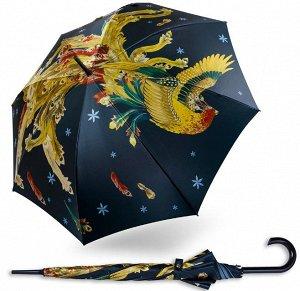 Зонт трость САТИН полнокупольный