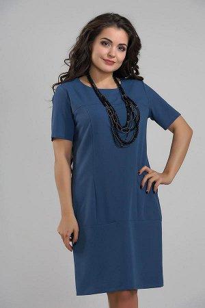 Платье 2803*Джинсовый синий. Смотрите весь мой пристрой