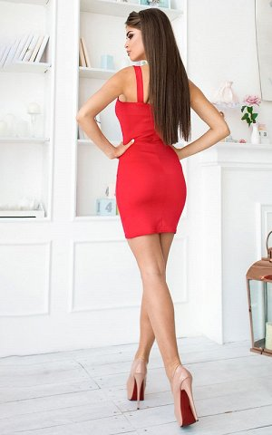 Платье Описание: –Размер:42 –Цвет:красный –Материал:дайвинг –Страна-производитель товара:Украина –Длина:Короткие