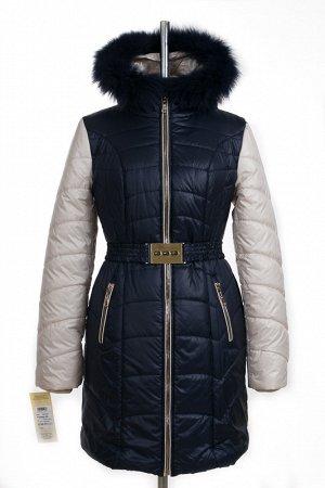 05-0392 Куртка зимняя (Синтепон 200 Песец) SALE Плащевка темно-синий