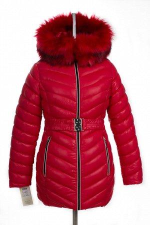 05-0405 Куртка зимняя (Синтепух 350) SALE Плащевка красный
