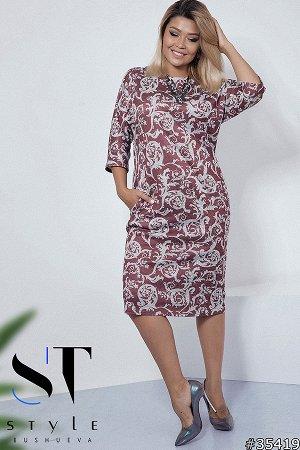 Платье 35419