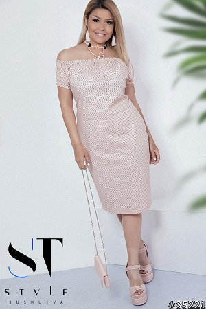 Силуэтное платье 35221