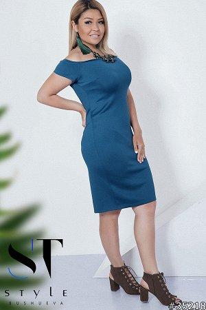 Силуэтное платье 35218