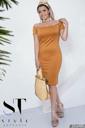 Силуэтное платье 35215