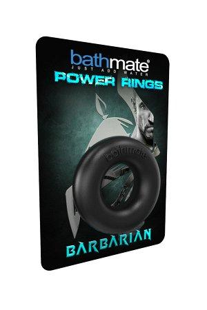 Эрекционное кольцо на пенис Bathmate Barbarian, elastomex, чёрный, ?5 см