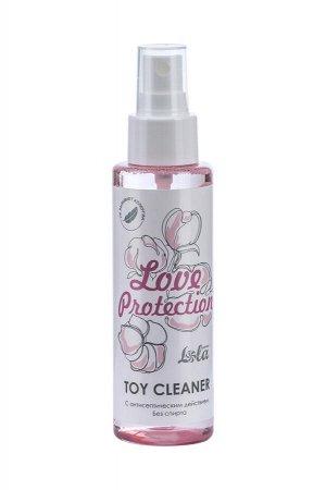 Лосьон гигиенический антисептический toy cleaner love protection 110 мл