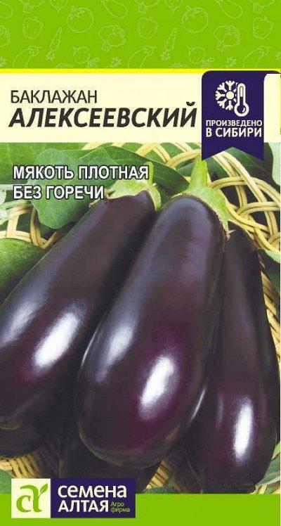 Алтайские семена — Баклажан — Семена овощей