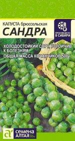 Капуста Брюссельская Сандра/Сем Алт/цп  0,5 гр.