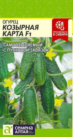 Огурец Козырная Карта F1/Сем Алт/цп 5 шт.
