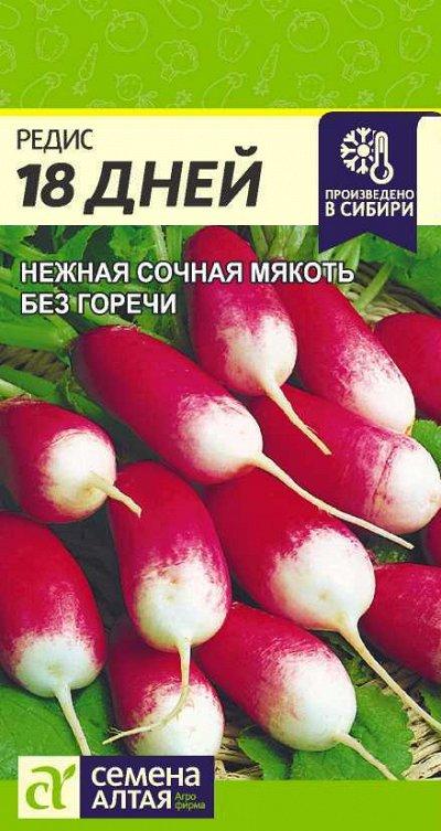 Семена Алтая. Отличная всхожесть,Огромный выбор сортов. — Редис, репа, редька, свекла — Семена овощей