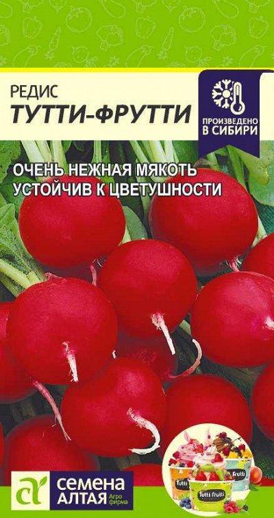 Алтайские семена — Редис — Семена овощей