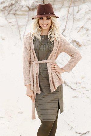 Комплект из платья и  жакета на рост от 168 см