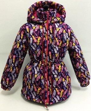 Куртка на девочку 128 р-р