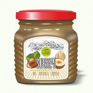 Урбеч классический из лесного ореха.230г.