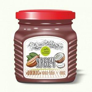 """Урбеч сладкий, Шококос """"шоколадная"""" паста .230г."""