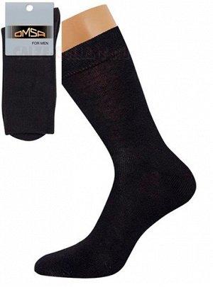 Классические гладкие всесезонные мужские носки