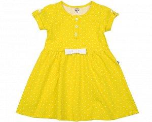 Платье (92-116см) желтый, рост 116