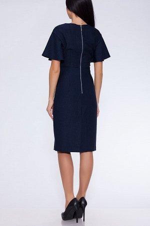 #23092 Платье Темно-синий