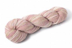 Прибалтийская пряжа КАУНИ Pink Beige 8/1, шерсть, 2 пасмы 150+152 гр