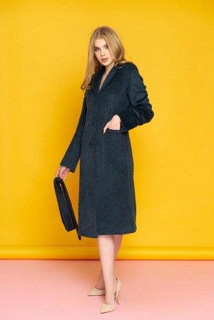 Пальто из ворсовой шерсти. Цена ниже СП