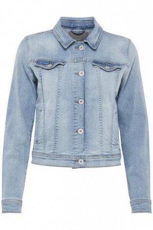 Силуэтная джинсовая куртка
